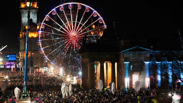 New Year's in Edinburgh