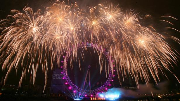 New Year's - London
