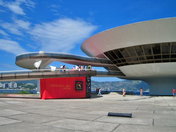 Museum of Contemporary Art in Niteroi, Brazil