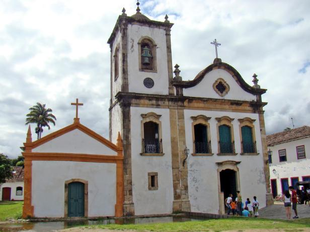 Chapel of Santa Rita in Paraty, Brazil