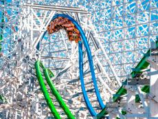 Twisted Colossus, Six Flags Magic Mountain, Valencia, California