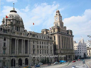 Western-style architectures along the Bund